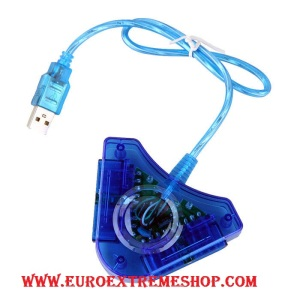 ADAPTADOR MANDO PS1 PS2 PS3 EUROEXTREMESHOP (1)