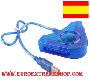 ADAPTADOR MANDO PS1 PS2 PS3 EUROEXTREMESHOP 2