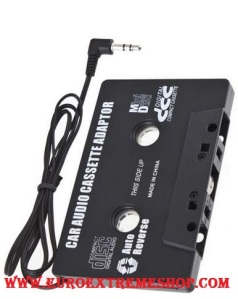 Auto-Car-Audio-Cassette-Tape-Adapter-for-iPod-MP3-MP4-Phone-CD-Player-Brand-New 1º