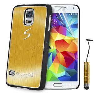 Carcasa Funda Tpu Para Samsung Galaxy S5 S4 S3 Mini S4 Mini Cepillado Aluminio (4)