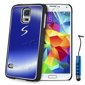 Carcasa Funda Tpu Para Samsung Galaxy S5 S4 S3 Mini S4 Mini Cepillado Aluminio (5)
