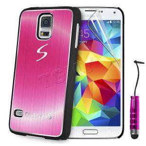 Carcasa Funda Tpu Para Samsung Galaxy S5 S4 S3 Mini S4 Mini Cepillado Aluminio (6)