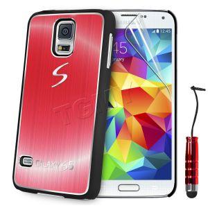 Carcasa Funda Tpu Para Samsung Galaxy S5 S4 S3 Mini S4 Mini Cepillado Aluminio (7)