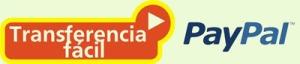 logo transferencia bancaria facil y paypal